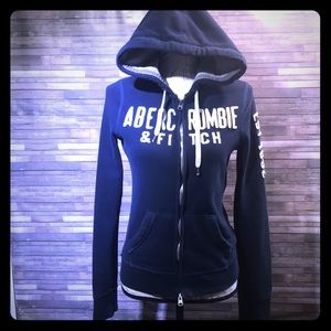 Abercrombie & Fitch Navy Hoodie M